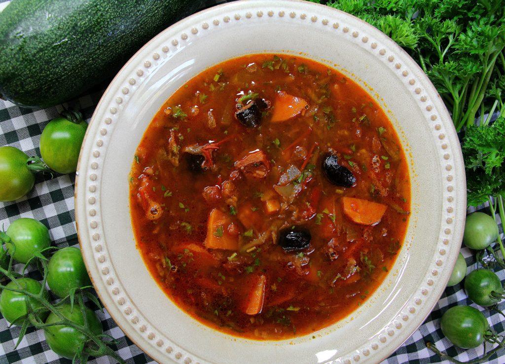 Summer Garden Soup Recipe