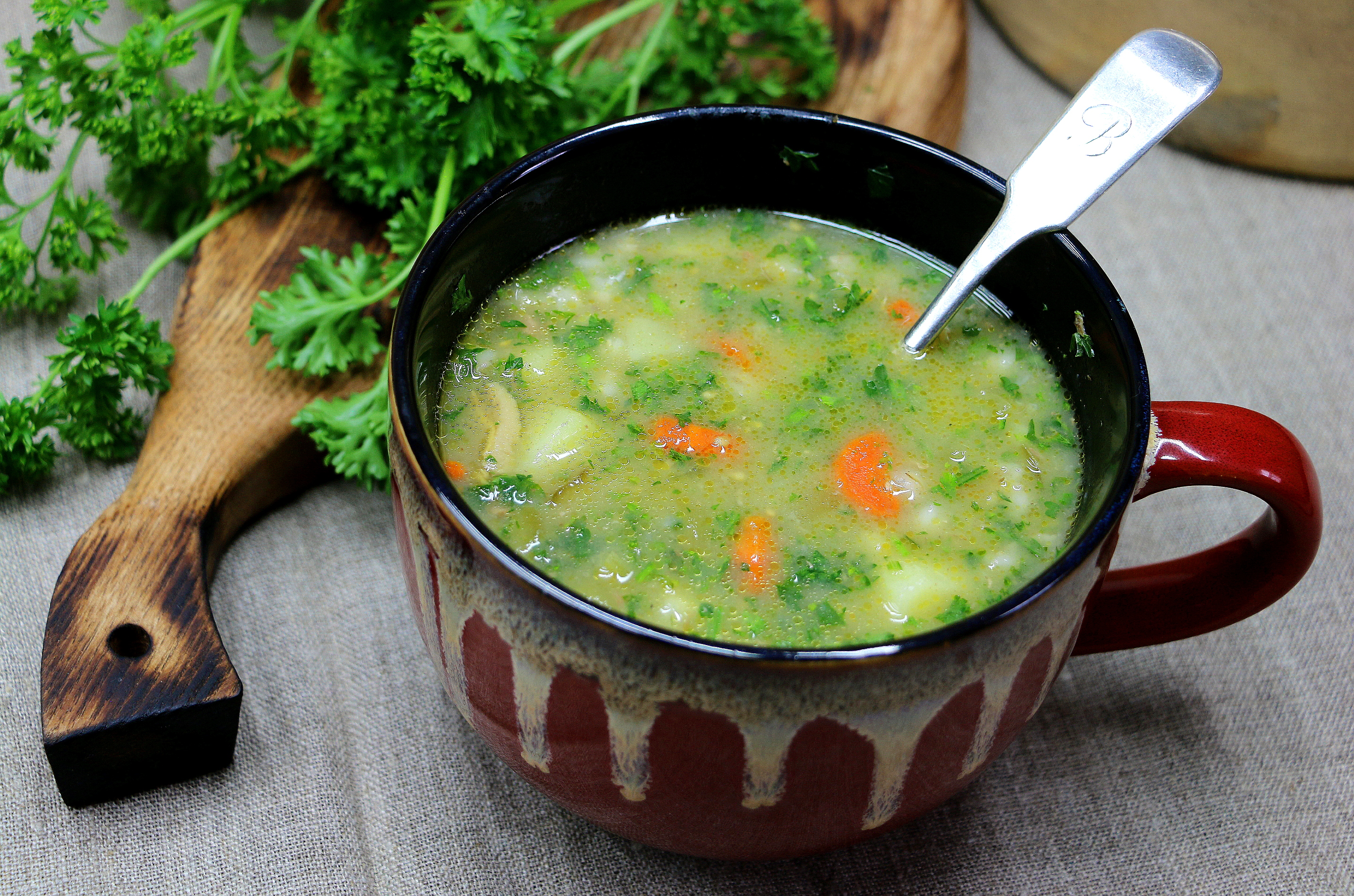 Kidney Barley Soup Recipe